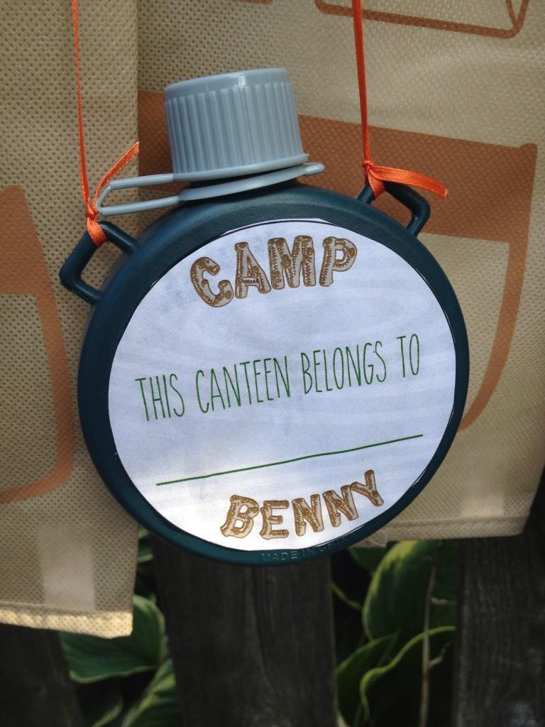 Camp Benny 5th Birthday at stylingharvard.com