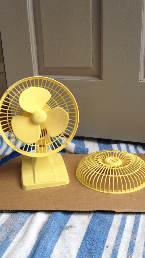 yellow fan - midas touch