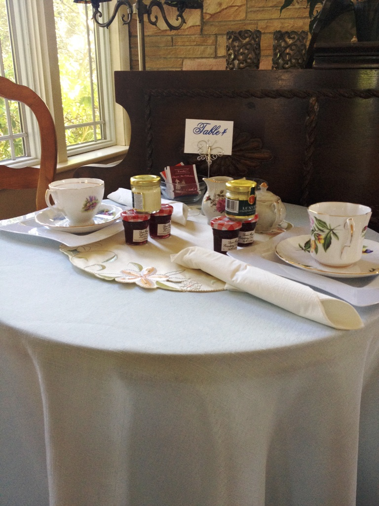 high tea bridal shower
