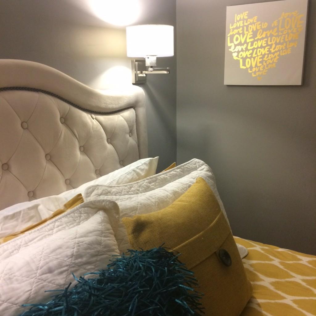 Styling Harvard budget bedroom makeover