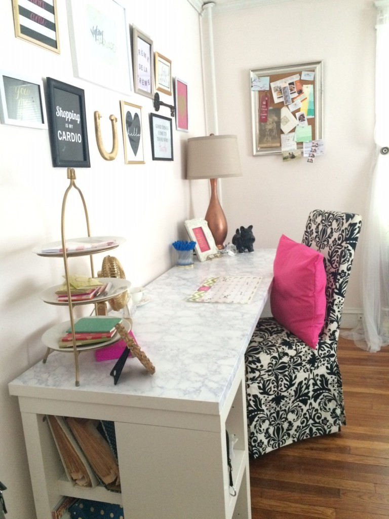 Styling Harvard home office