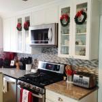 Styling Harvard 2015 Christmas Home Tour British Kitchen