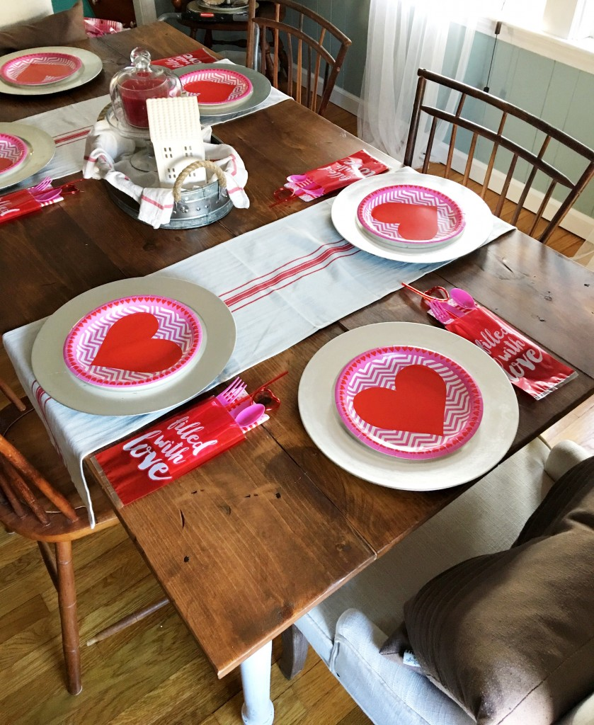 Styling Harvard | Valentine's Day Dining Room