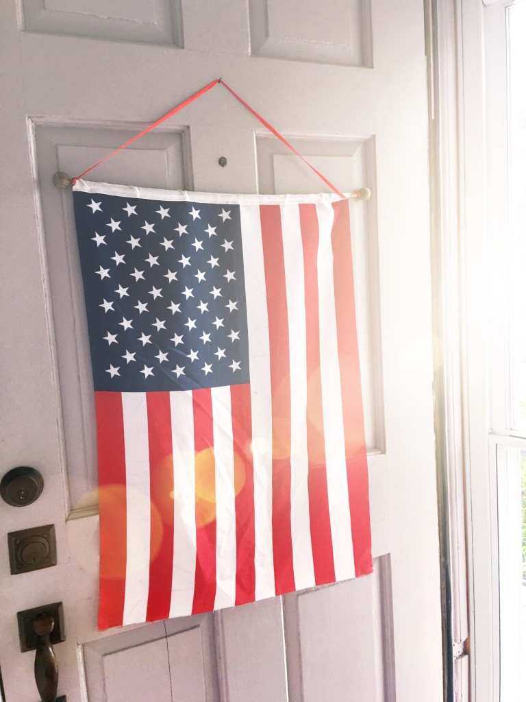 Styling Harvard Patriotic decor
