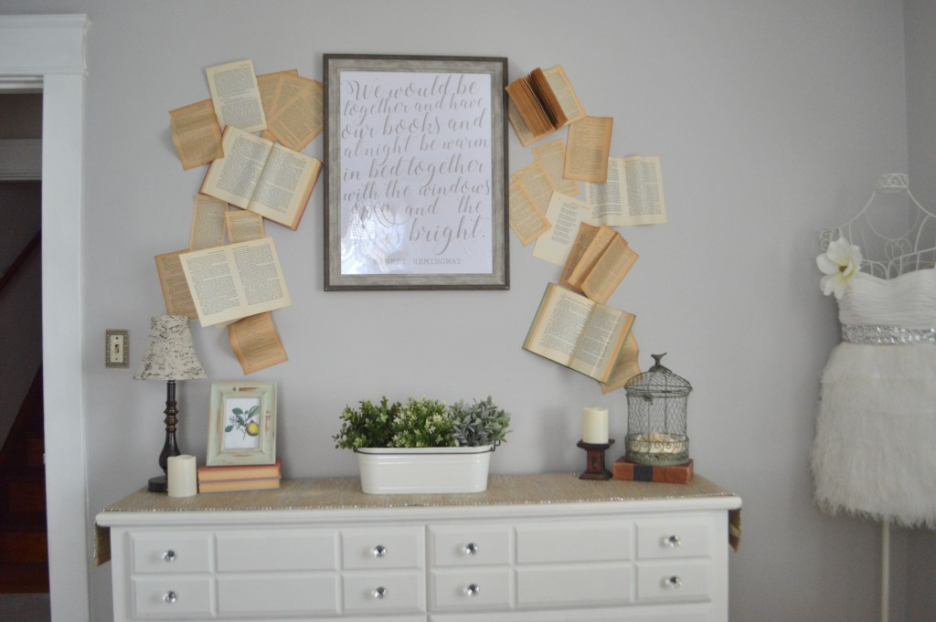 Styling Harvard Guest Room Book Wall