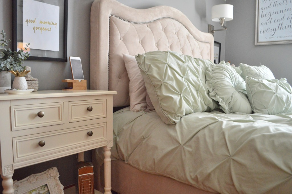 Styling Harvard Master Bedroom