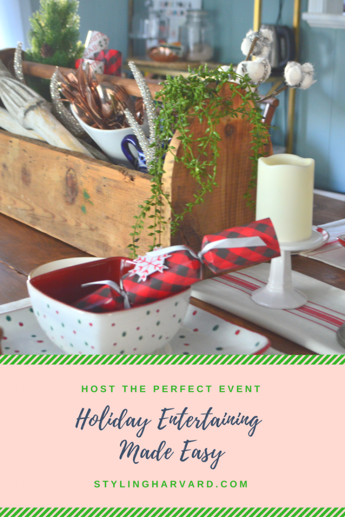 Holiday Entertaining Made Easy with Styling Harvard